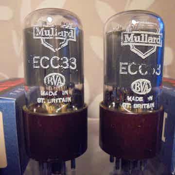 MULLARD ECC33 6SN7GT