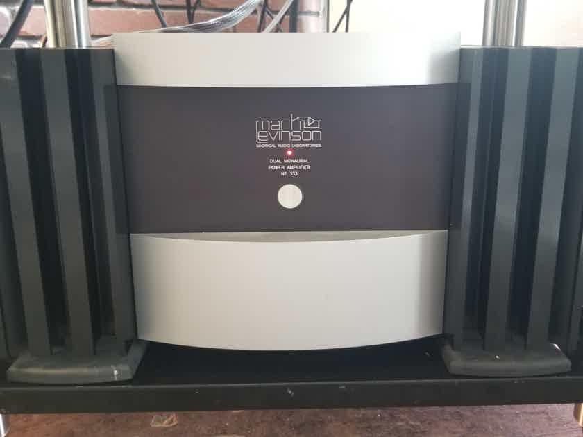 Mark Levinson No 333 Dual Monoaural Amplifier