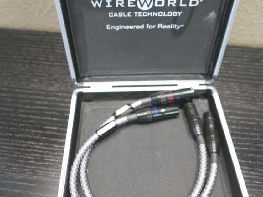 Wireworld Platinum Eclipse Balanced XLR Interconnects 0.5m Excellent