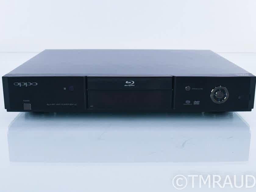 Oppo BDP-83 Universal Blu-Ray Player; BDP83; Remote; VRS (18482)