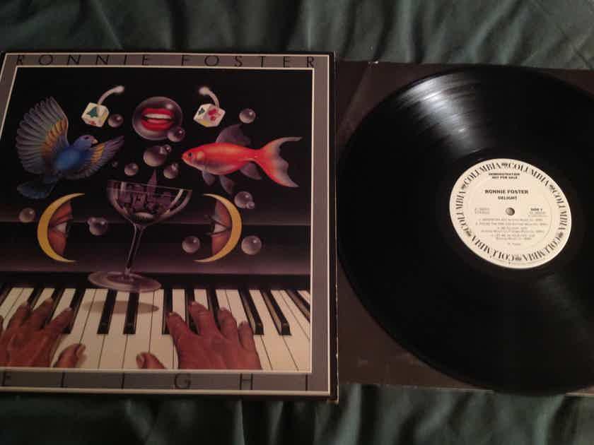 Ronnie Foster Delight Columbia Records White Label Promo LP