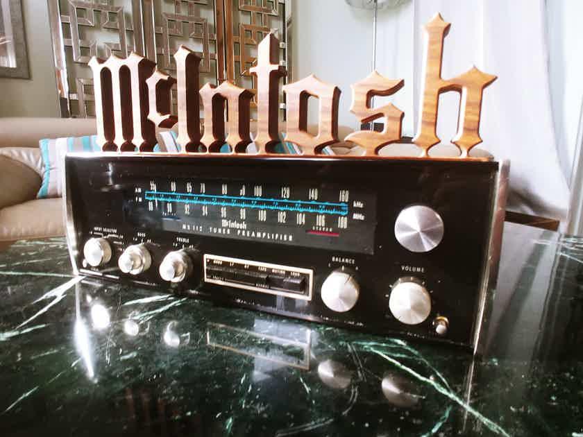 McIntosh MX-112 Just Serviced 3/21...