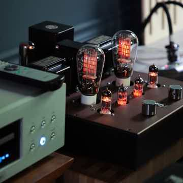 Finale Audio 300B Integrated HASHIMOTO Transformers