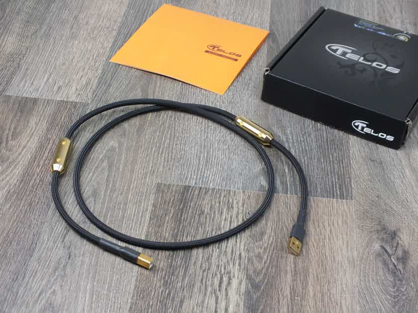 Telos Audio Design Gold Reference Signature USB cable 1,2 metre