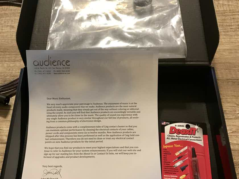 Audience Ohno XLR 1.5M (will trade for comparable value RCA interconnects)