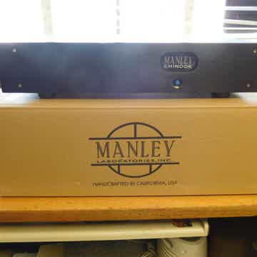 Manley Chinook Upscale Audio Upgrades