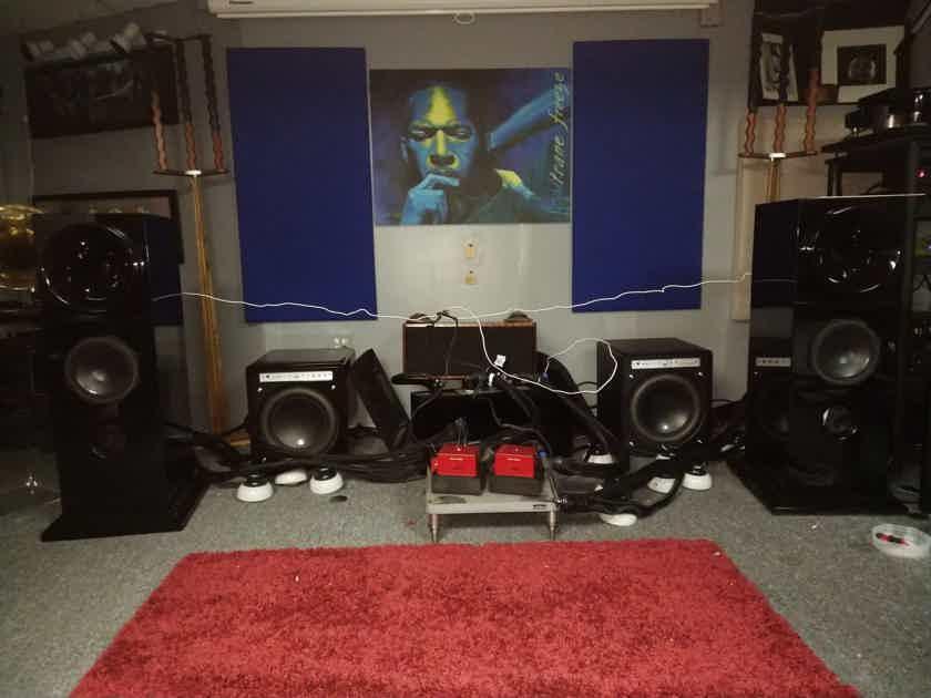 """Orinda Acoustics 8"""" 2 Way Horn Speaker Show Demo"""