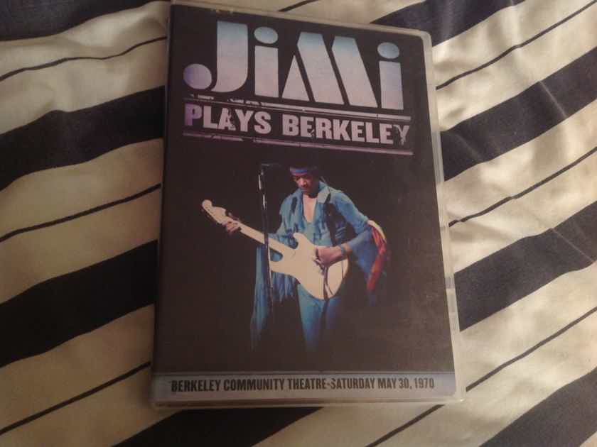 Jimi Hendrix  Plays Berkeley DVD