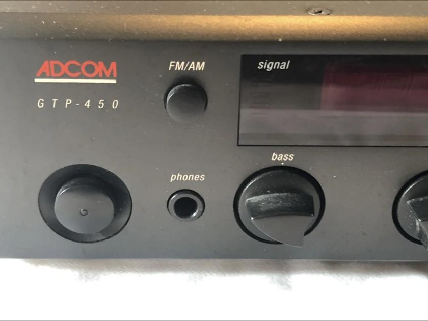 Adcom Adcom GTP-450 2 Channel Pre-Amp/Processor Amplifier