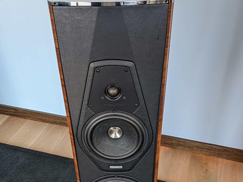 Sonus faber Amati Futura Loudspeaker Pair, Walnut Finish