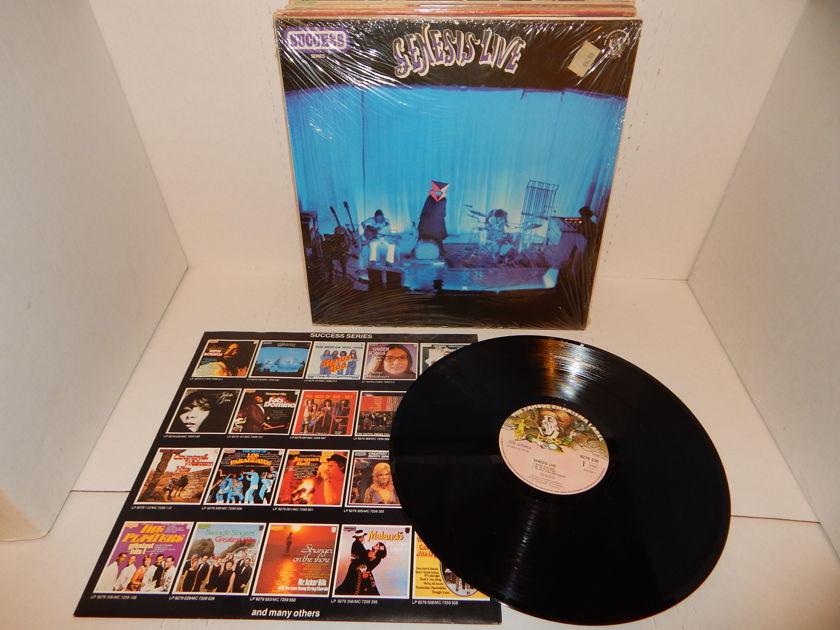 GENESIS LIVE Holland Import  - Famous Charisma Label 'Musical Box' Shrink Mint LP