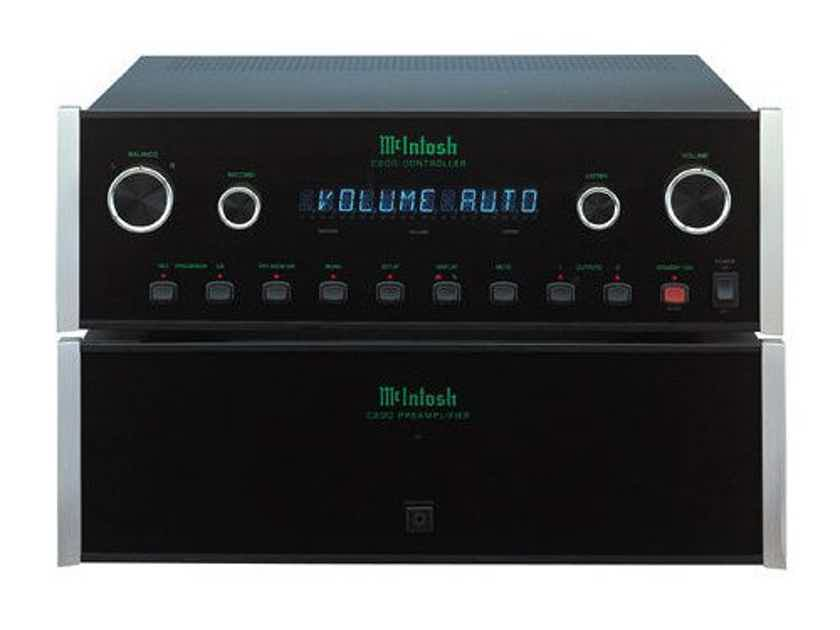 McIntosh C100P Stereo Preamplifier; C-100 P (New / Old Stock) (No C100C) (20676)