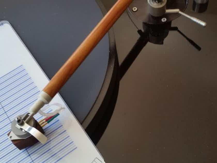Musical Life 9 inch German wooden unipivot tonearm