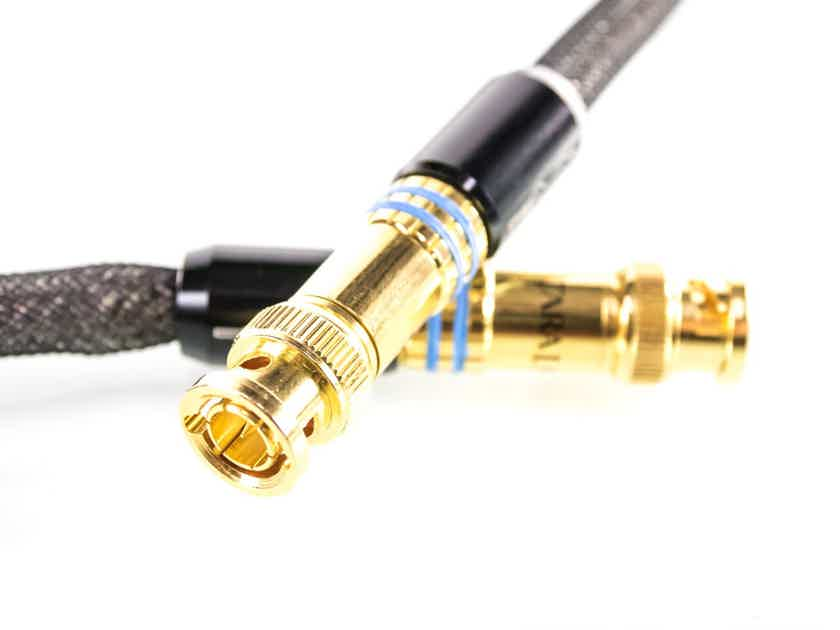 Tara Labs The 0.8 BNC Digital Cable w/ ISM Onboard; Single 1m Interconnect; 08 (1/3) (27521)