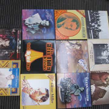 11 Glenn Miller LPS, Ex Sound + Production RCA, Bluebird, GRP,Ex Condition