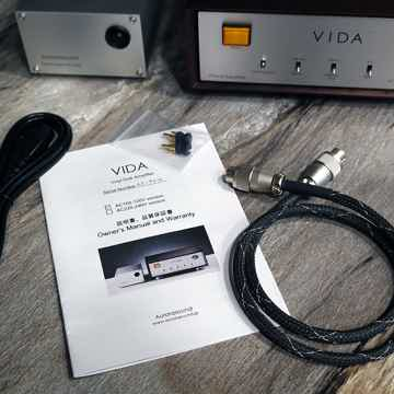 Aurorasound VIDA - LCR type phono stage - demo unit in excellent condition