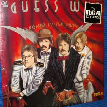 "THE GUESS WHO   ""Power In The Music"" -"