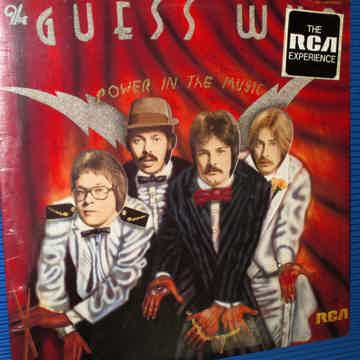 """THE GUESS WHO   - """"Power In The Music"""" -  RCA 1975 no B..."""