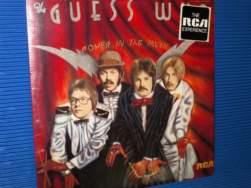 "THE GUESS WHO   - ""Power In The Music"" -  RCA 1975 no Bar Code SEALED!"