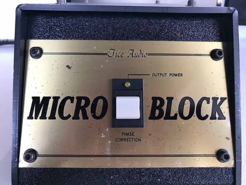 Tice Audio Micro Block Preamp Power Conditioner