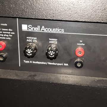 Snell Acoustics A's, B's, & Hafler