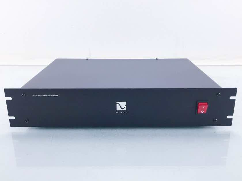 PS Audio FGA-3 Commercial 2-Zone Power Amplifier FGA3 (16365)