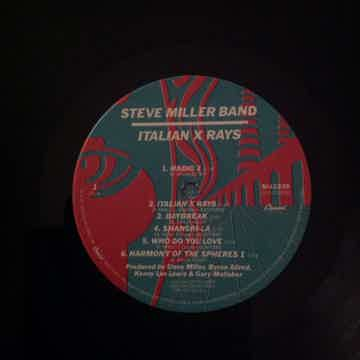 Steve Miller Band - Italian X Rays Capitol Records Wall...