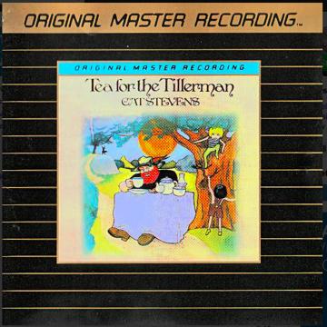 """Cat Stevens """"Tea for the Tillerman"""" MFSL 24k Gold CD"""