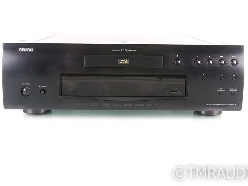 Denon DVD-3800BDCI Blu-Ray / CD Player; DVD3800-BDCI; Remote (19398)