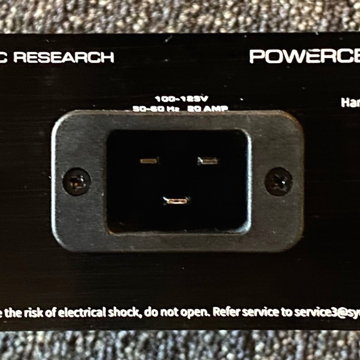 Synergistic Research 8 UEF & Blue UEF10 High Current Power Cord: