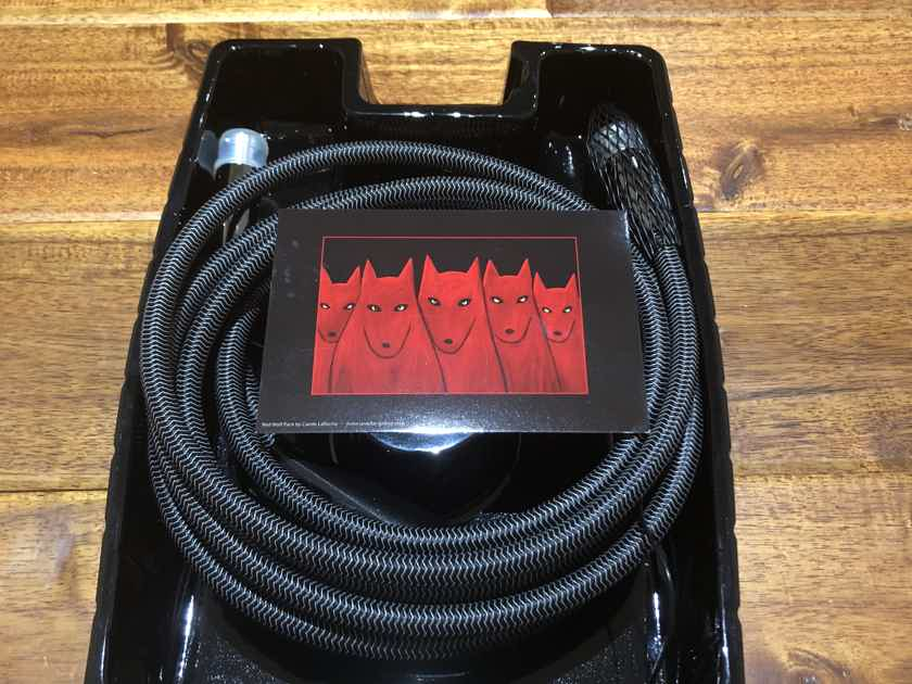 AudioQuest Wolf RCA Subwoofer cable 3m  BRAND NEW