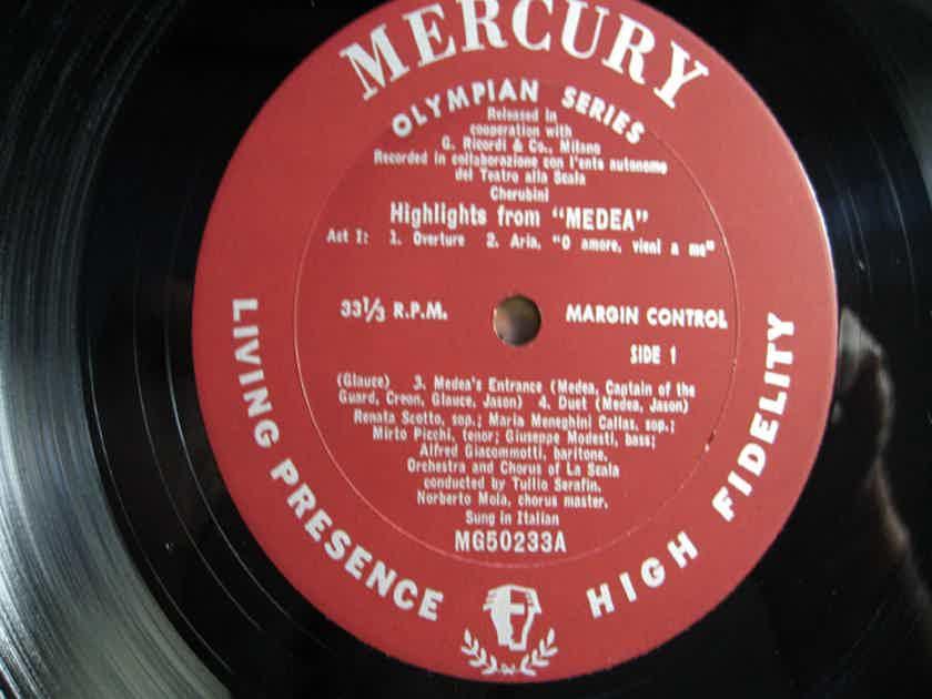 Maria Meneghini - Callas Higlights from Media By Luigi Cherubini - 1960s Mercury Records MG50233