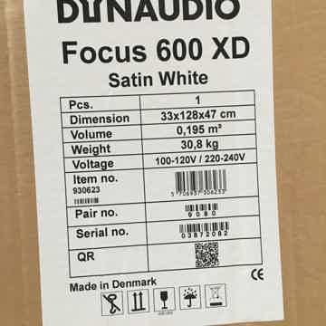 Dynaudio Focus 600XD