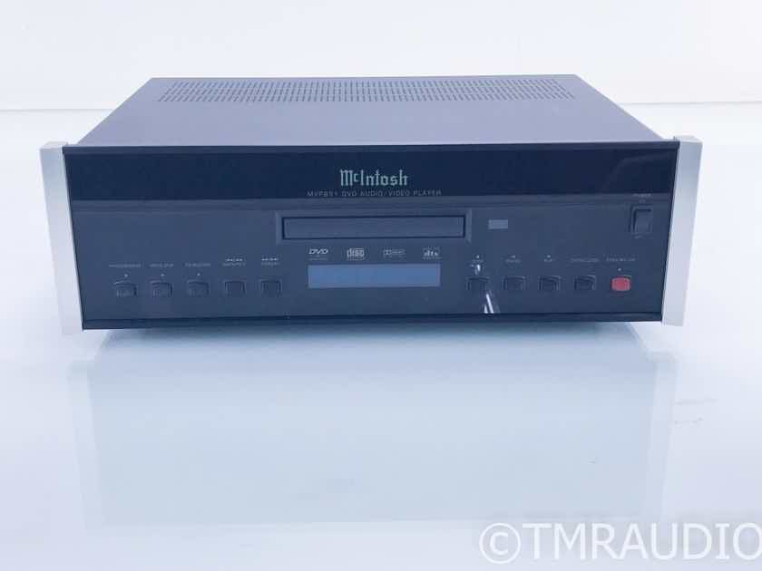McIntosh MVP851 DVD / CD Player; MVP-851; Remote (18285)