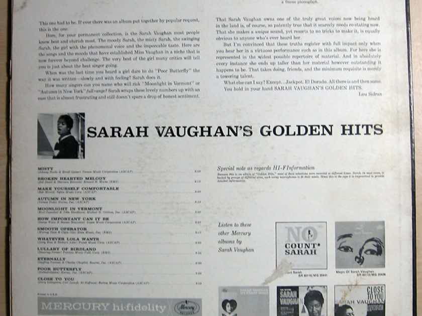Sarah Vaughan - Sarah Vaughan's Golden Hits MG 20645