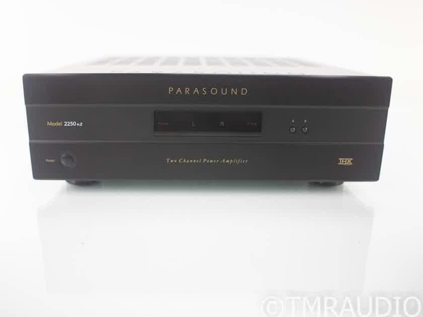 Parasound NewClassic 2250 v.2 Stereo Power Amplifier; v2 (18621)