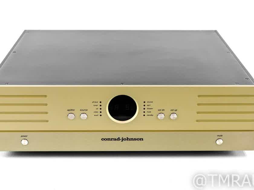 Conrad Johnson ET5 Stereo Tube Hybrid Preamplifier; ET-5; Remote (28863)