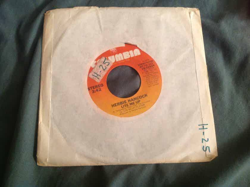 Herbie Hancock  Lite Me Up Columbia Records Promo Single