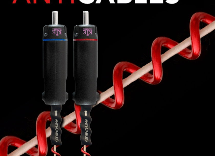 ANTICABLES Level 5.2 PURE Reference RCA Analog Interconnects