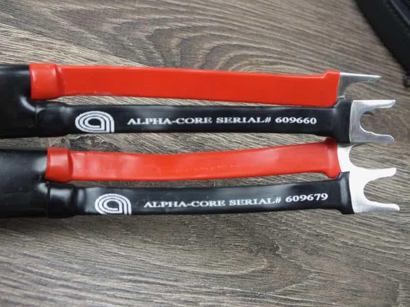 Goertz Alpha Core AG-2 Veracity silver speaker cables 3,5 metre BRAND NEW