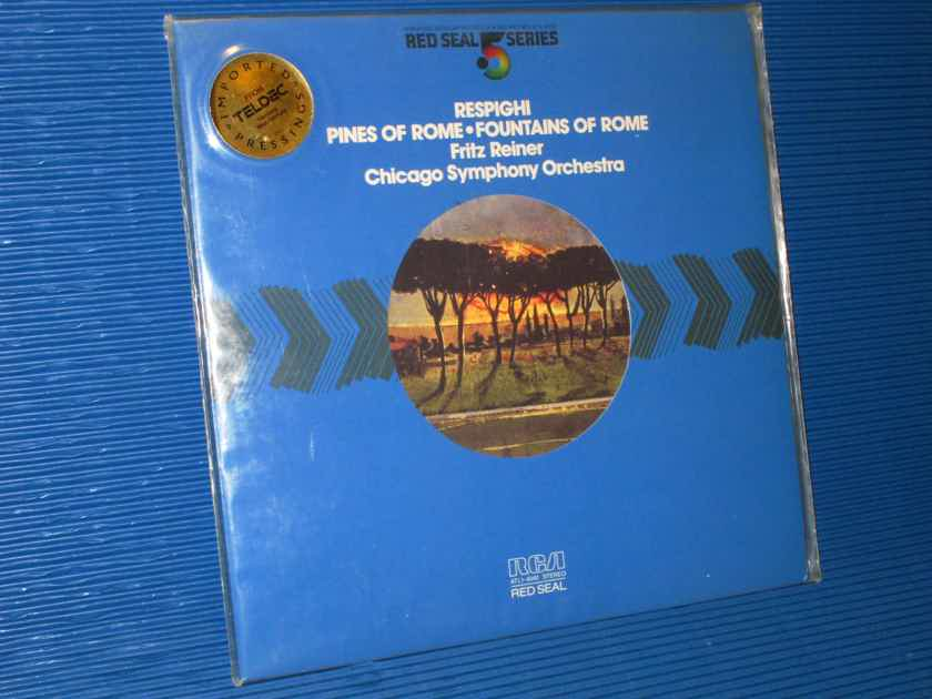 "RESPIGHI / Reiner  - ""Pines of Rome"" - RCA .5 Audiophile Series 1981 SEALED!"