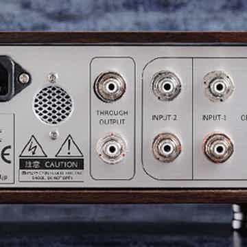 Aurorasound HEADA Balanced Drive Headphone Amplifier - backside