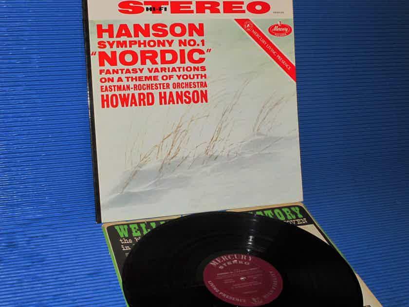 "HANSON / Hanson  - ""Nordic Symphony"" -  Mercury Living Presence 1960 1st Pressing"