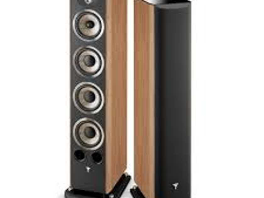 Focal Aria 936 3-Way  Floorstanding Loudspeakers (Prime Walnut Finish): EXCELLENT Demo; Full Warranty; 38% Off; Free Shipping