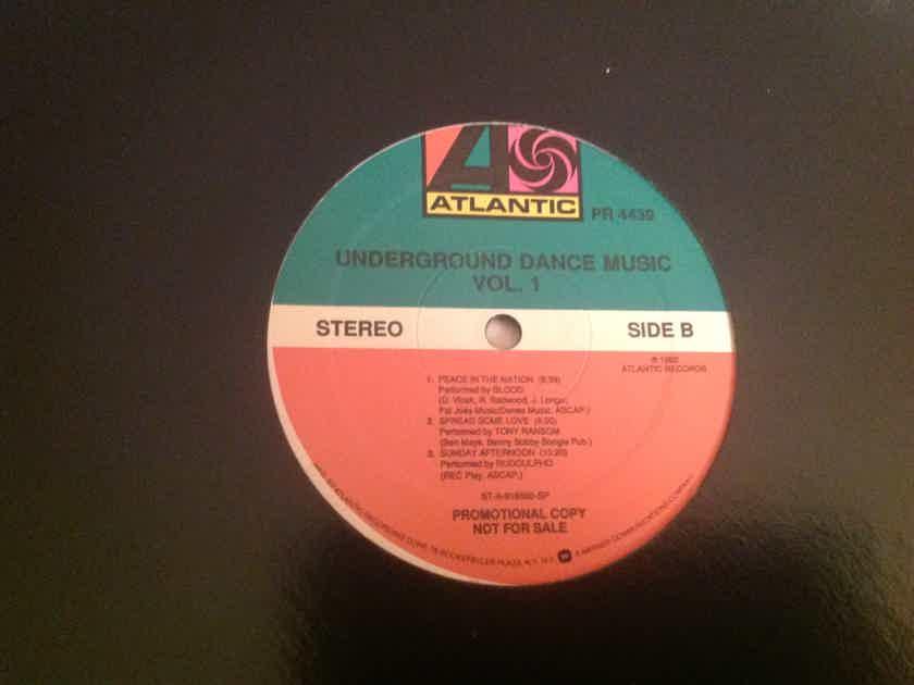 Various  Underground Dance Music Atlantic Records Promo LP