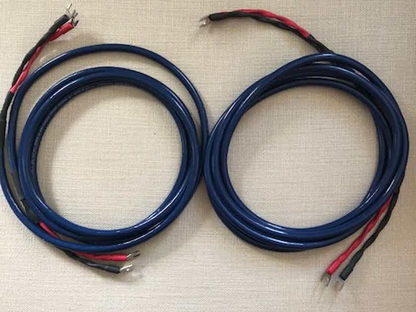 Cardas Audio Cross Link 10 Feet Speaker cables spades