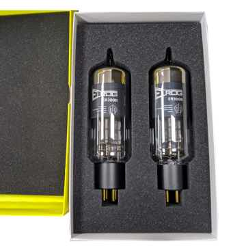 ELROG ER300B Triode Power Tubes: Matched Pair; NEW-in-B...