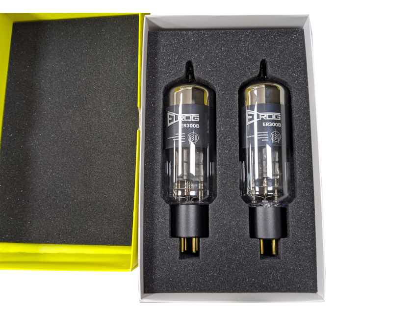 ELROG ER300B Triode Power Tubes: Matched Pair; NEW-in-BOX; 15% Off