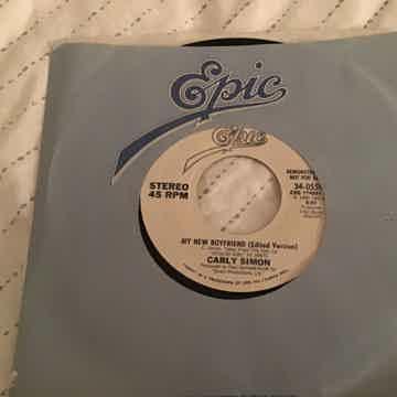 Carly Simon  My New Boyfriend(Long Version) Promo 45 NM