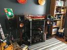 Office studio / music room system. Klipsh RP 600M speakers